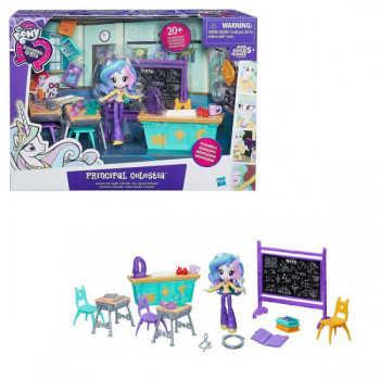 B8824 My Little Pony Equestria Girls Игровой набор кукол Пижамная вечеринка