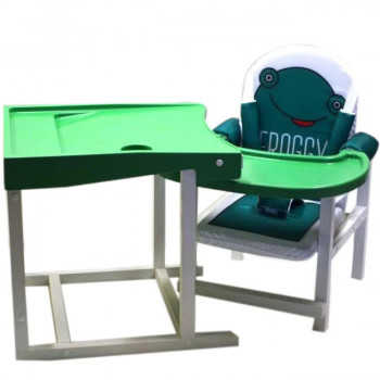 BABYS Стул-стол для кормления FROGGY Зеленый FROGGY