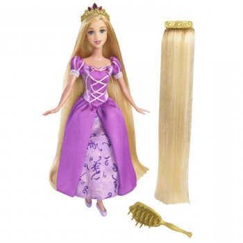 Disney Princess. Кукла Рапунцель с длин.волосами и аксессуарами