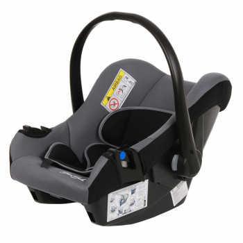BAMBOLA Удерживающее устройство для детей 0-13 кг NAUTILUS Серый/Черный (3 шт в кор) KRES2931