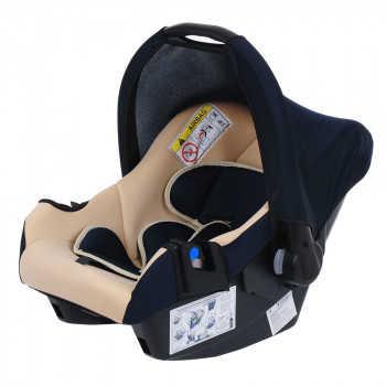 BAMBOLA Удерживающее устройство для детей 0-13 кг NAUTILUS Т.Синий/Бежевый (3 шт в кор) KRES2936