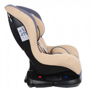 BAMBOLA Удерживающее устройство для детей 0-18 кг BAMBINO Серый/Бежевый 2шт/кор KRES2945