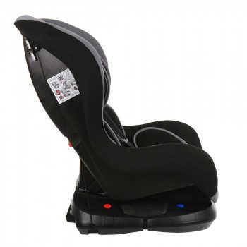BAMBOLA Удерживающее устройство для детей 0-18 кг BAMBINO Серый/Черный 2шт/кор KRES2940