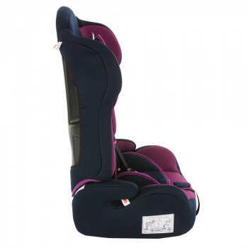 BAMBOLA Удерживающее устройство для детей 9-36 кг PRIMO Фиолетовый/Синий 2шт/кор KRES2925