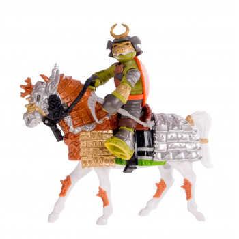 Всадник Черепашки-ниндзя Самурай Майки на коне