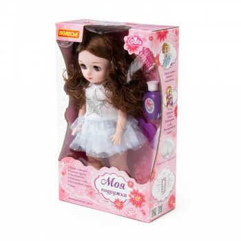 """Арт. 79596. Кукла """"Алиса"""" (37 см) в салоне красоты с аксессуарами (6 элементов) (ходит, танцует, раз"""