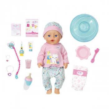 Игрушка BABY born Кукла Интерактивная Чистим зубки, 43 см, кор. 827-086