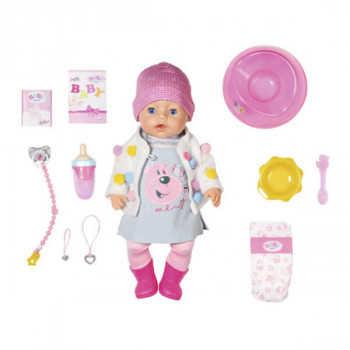 Игрушка BABY born Кукла Интерактивная Стильная Весна, 43 см, кор. 826-690