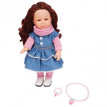 Кукла 40 см с аксессуарами LVY007