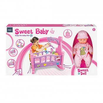 """PITUSO Набор """"Пупс (35 см) +кроватка для кукол"""" (53*31*50см) (в кор.12 шт.) 6426410"""
