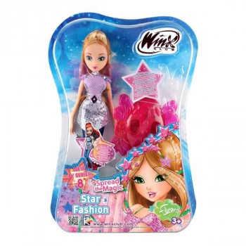 """Кукла Winx Club """"Звездная магия"""" Флора IW01801902"""