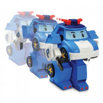 Робот-трансормер Поли на радиоуправлении (31 см). Управляется в форме робота