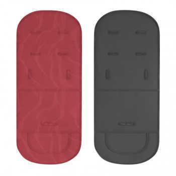 Коляска трансформер Lorelli Lora Красно-черный / Red&Black LIGHTHOUSE 2055 Красно-черный / Red&Black