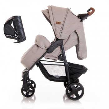 Прогулочная коляска Lorelli Daisy с накидкой на ножки Бежевый / Beige String 2054