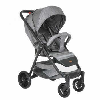 PITUSO Коляска детская TOLEDO (прогулочная), Grey Metallic/Серый металлик S1/Grey Metallic
