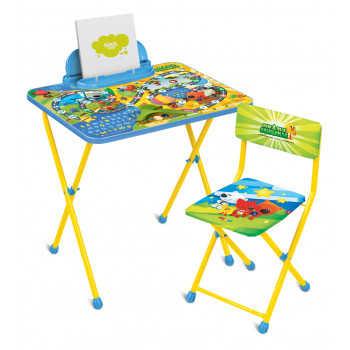 НИКА Набор мебели стол+стол МиМиМишки c игрой от 3 до 7 лет ММ2/1