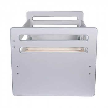 PITUSO Кровать Подростковая AMADA  NEW Серый J-504 165*89,5*75,5 см J-504/Серый
