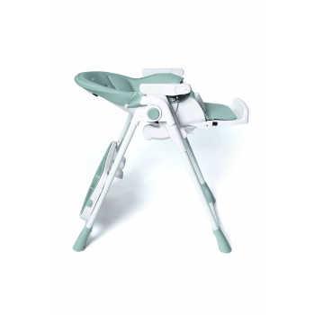 """Стул для кормления TOMIX """"Piccolo"""", (light green), возраст от 0, максимальная нагрузка 15 кг, колеса"""