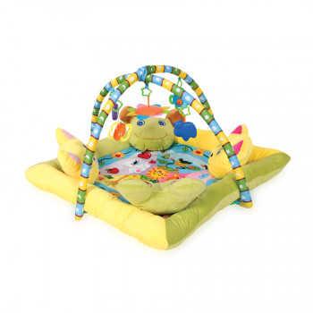 L 20.035_1030036 Игровой коврик с 4-мя подушечками Lorelli toys