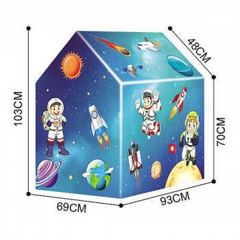 PITUSO Дом + 50 шаров Космос,93*69*103см (ПВХ каркас), 12 шт.в кор. 995-5003B
