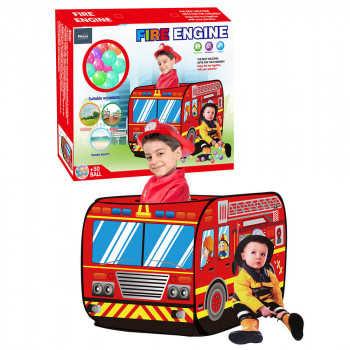 PITUSO Дом + 50 шаров Пожарный фургон,110*70*70см,18 шт.в кор. J1095