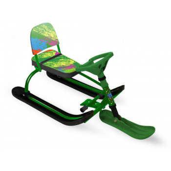 НИКА Игрушка Снегокат TWINY 1 с красками (зеленый каркас) (1 шт) TW1/К2