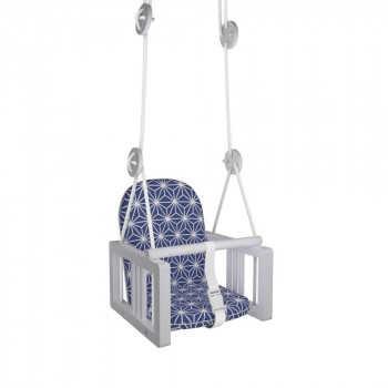 ГНОМ Качели детские подвесные LiLu синий К-001-11