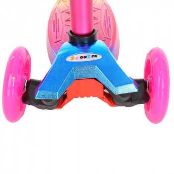 PITUSO Самокат трехколесный Pink/Розовый MG-08 Pink