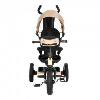 "PITUSO Велосипед трехколесный Rumba Beige/Бежевый, AIR, 12""/10"" SG6016-Beige"