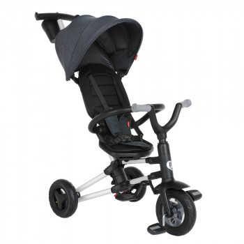 QPlay Велосипед трехколесный NOVA Black черный S700-Black