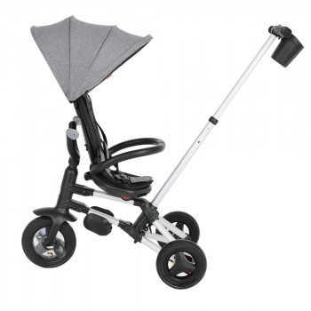 QPlay Велосипед трехколесный NOVA +, Grey cерый S700 PLUS-Grey
