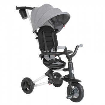 QPlay Велосипед трехколесный NOVA Grey серый S700-Grey