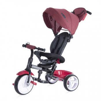 Велосипед Lorelli MOOVO Красно-черный / Red&Black LUXE 2103