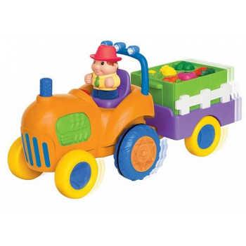 037325 Муз. машинка  трактор