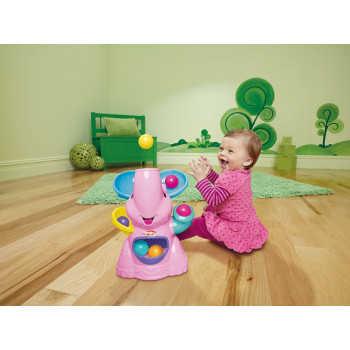 H 37054 Слон - фонтан розовый Playskool