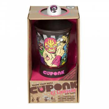 CUPONK.  Игра активная, на меткость со звуковыми и световыми эффектами.