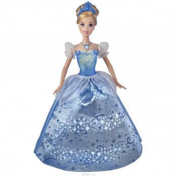 Кукла Золушка в сияющем платье. Высота 28см