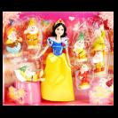Набор с мини куклой Белоснежка и 7 гномов