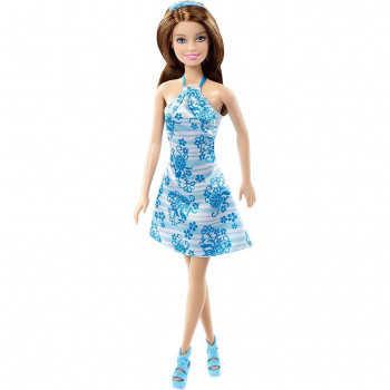 Кукла Barbie Гламурный стиль Голубая
