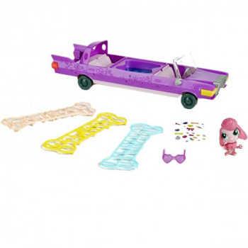 """LPS. Набор игровой """"Лимузин"""" в комплекте с уникальн.Зверушк. с джакузи и аксес."""
