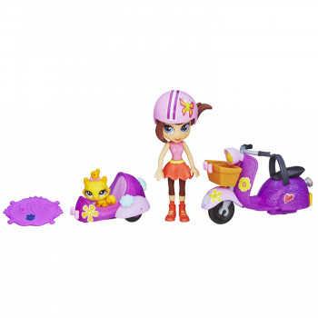 LPS. Куколка Блайс на скутере с аксес.