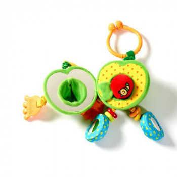 (411) Развив игрушка зеленое Яблочко Энди,серия Друзья фрукты