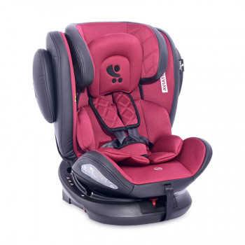 Автокресло 0-36 кг Lorelli  AVIATOR ISOFIX (FR-01) Красно-черный / Red&Black 2167