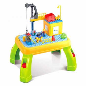 PITUSO  Стол для игры с конструктором, в компл. с конструктором (42эл.) (53*40.5*28) 6638736