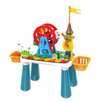 PITUSO  Стол для игры с конструктором, в компл. с конструктором (66эл.) (50*22,5*53 см) 6775176